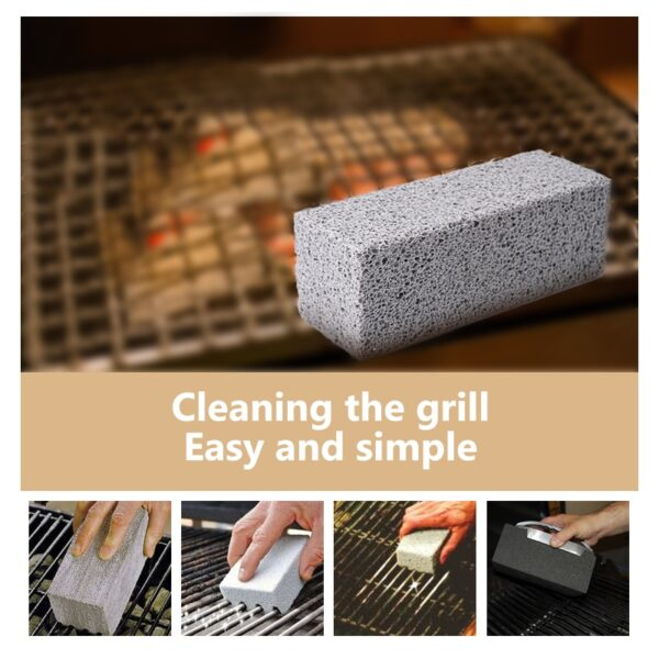 BBQ Grill Cleaning Brick - Barbecue Stone