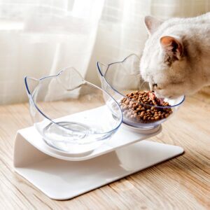 Non-slip Cat Bowl - Pet Food Water Bowl